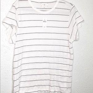 Lou & grey striped tee XL NWT